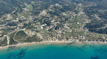 Corfu – Arilas Aerial View