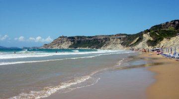 Corfu – Arilas Beach Closer View