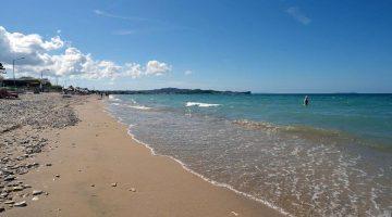 Corfu Acharavi Beach Closer View