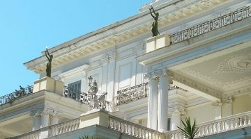 Corfu Achilleion Palace Balconies
