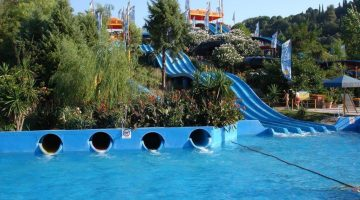 Corfu Aqualand Waterslides Closer View