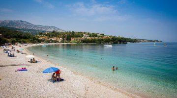 Corfu Kassiopi Beach