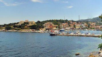 Corfu Kassiopi Port