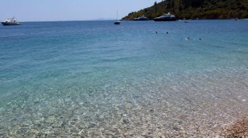 Corfu Kerasia Beach Closer View