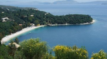 Corfu Kerasia Aerial View