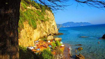 Corfu Myrtiotissa Beach
