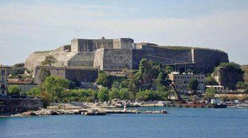 Corfu New Fortress Far View
