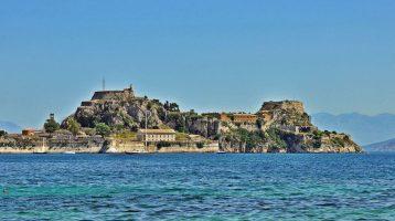 Corfu Old Fortress Far View 2