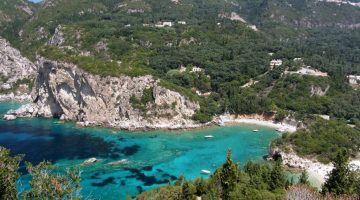 Corfu Palaiokastritsa Far View