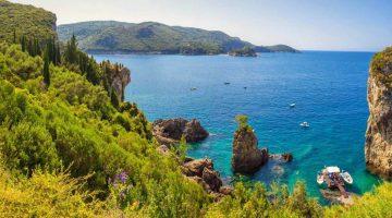 Corfu Palaiokastritsa Beach