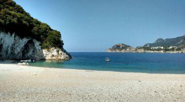 Corfu Rovinia Beach