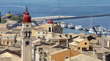 Corfu Saint Spyridon Above
