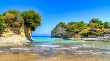 Corfu Sidari Canal D'amour Beach