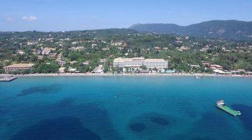 Corfu – Elea Beach Hotel in Dassia