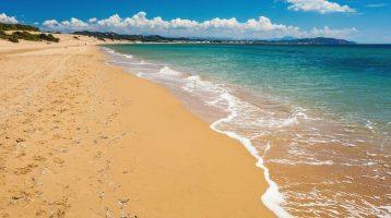 Corfu – Issos Beach close view