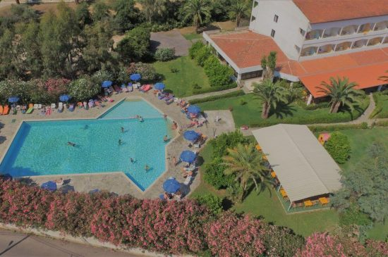 Livadi Nafsika Aerial view of the pool