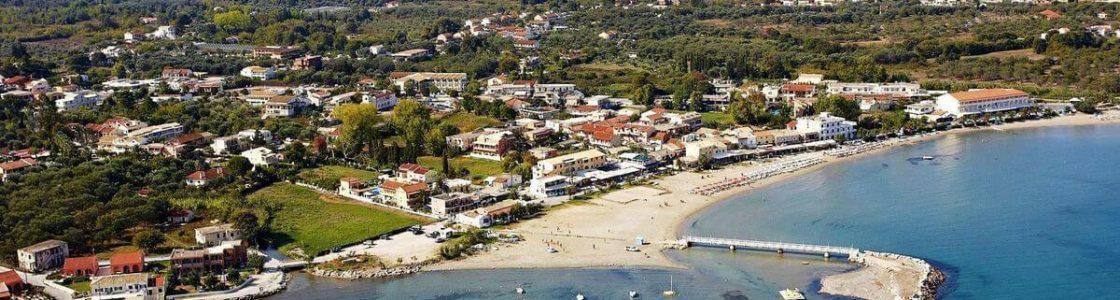 Corfu – Roda Aerial View