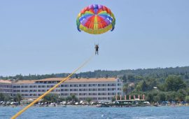 Elea Beach Water Sports with parachute