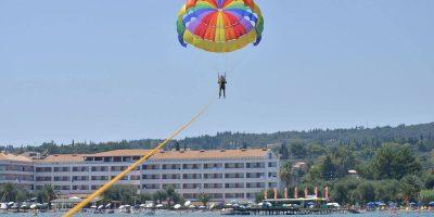 Elea Beach Water Sports with parachute