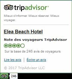 Trip Advisor Ξενοδοχείο Elea Beach